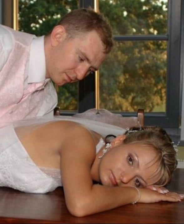 naughty wedding photos