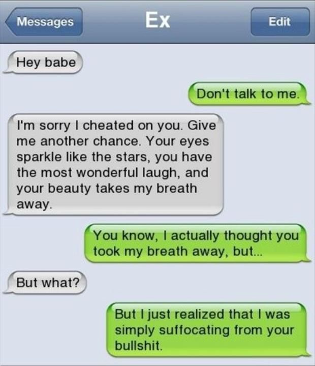 Hilarious Texts Only Your Ex Can Send You!