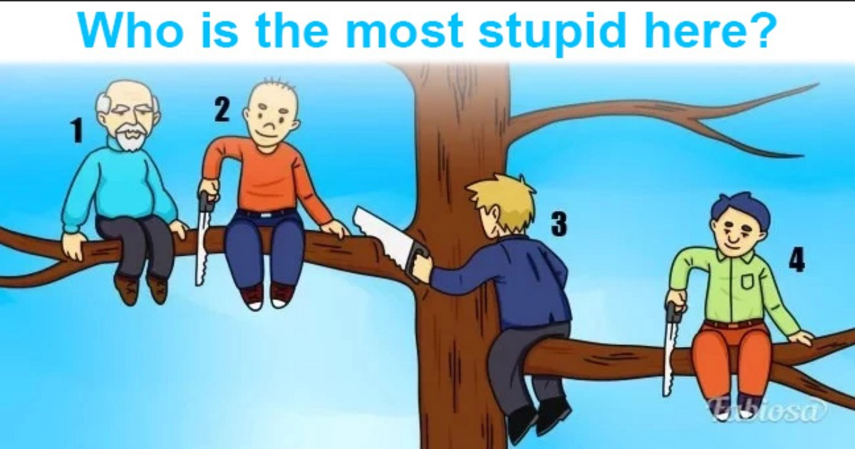 choose stupid man from picture and know about your personality