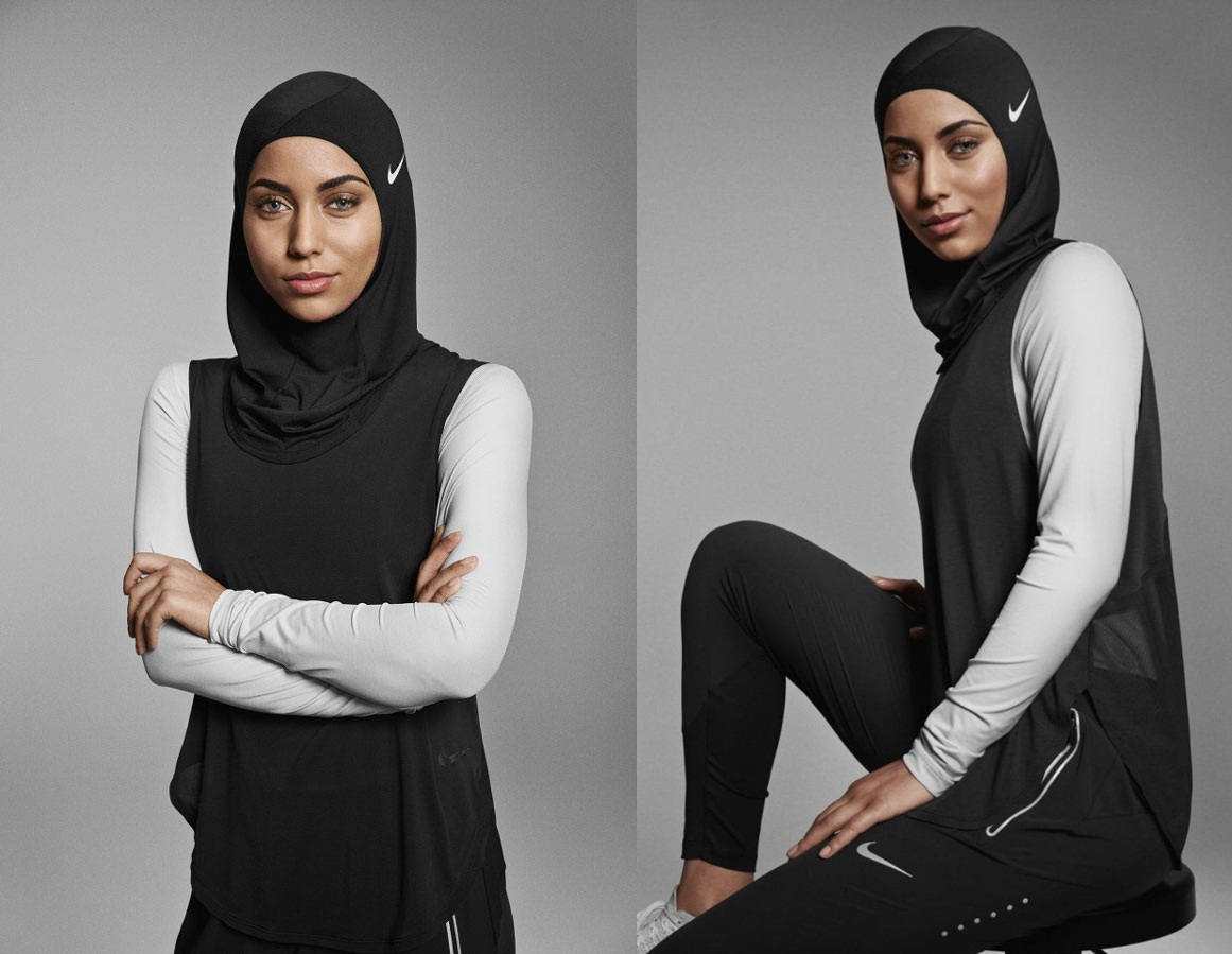 Nike released its first sports hijab